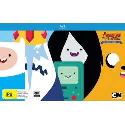 Adventure Time Season 1-5 Blu-ray...