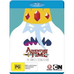 Adventure Time Season 2 Blu-ray