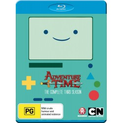 Adventure Time Season 3 Blu-ray