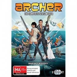 Archer Season 4 DVD