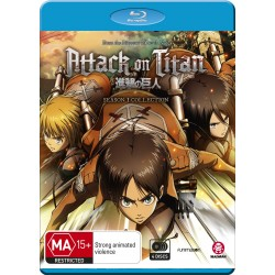 Attack on Titan Season 1 Blu-ray