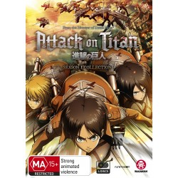 Attack on Titan Season 1 DVD