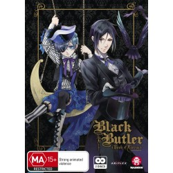 Black Butler Season 3 DVD Book of...