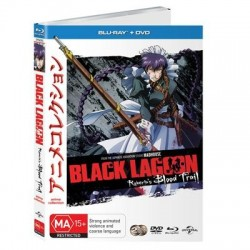 Black Lagoon OVA Robertas Blood...