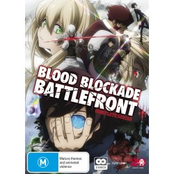 Blood Blockade Battlefront DVD...