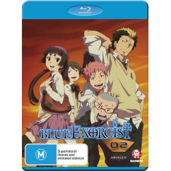 Blue Exorcist Disc 2 Blu-ray Dub/Sub