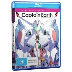 Captain Earth Part 1 Blu-ray