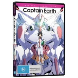 Captain Earth Part 1 DVD