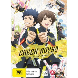 Cheer Boys DVD Complete Series