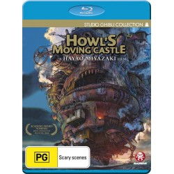 Howls Moving Castle Blu-ray