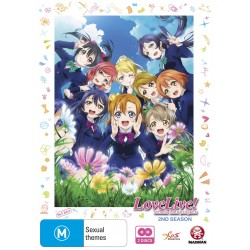 Love Live Season 2 DVD
