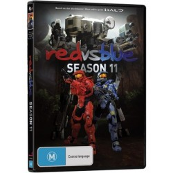 Red vs Blue Season 11 DVD