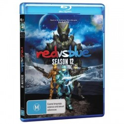 Red vs Blue Season 12 Blu-ray