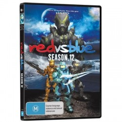 Red vs Blue Season 12 DVD