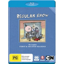 Regular Show Seasons 1 & 2 Blu-ray