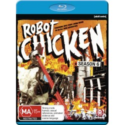 Robot Chicken Season 6 Bluray