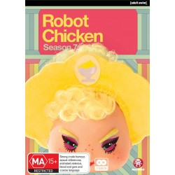 Robot Chicken Season 7 DVD