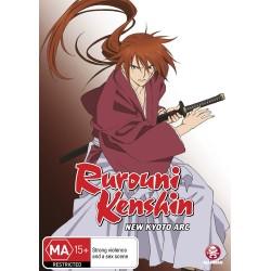 Rurouni Kenshin New Kyoto Arc DVD
