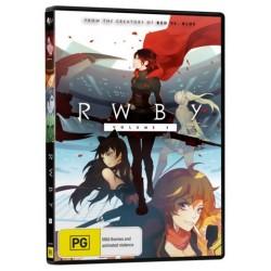 RWBY Season 3 DVD