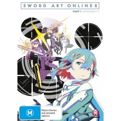 Sword Art Online 2 Part 1 DVD
