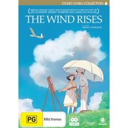 Wind Rises DVD