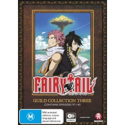 Fairy Tail Guild Collection 3 DVD...
