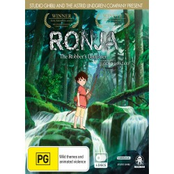 Ronja the Robbers Daughter DVD