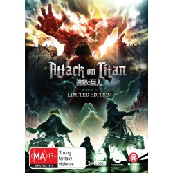 Attack on Titan Season 2 Blu-ray...