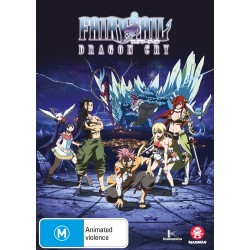 Fairy Tail Movie Dragon Cry DVD