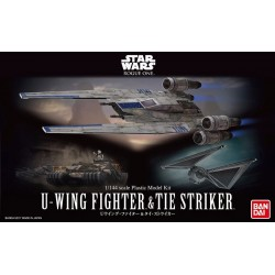 1/144 SWRO U-Wing Fighter & Tie...