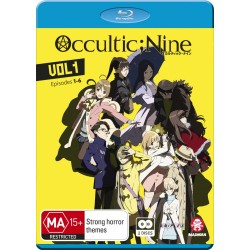 Occultic Nine V01 Blu-ray Eps 1-6