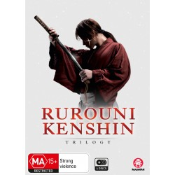 Rurouni Kenshin Movie Trilogy DVD