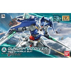 1/144 HG GBD K000 Gundam 00 Diver